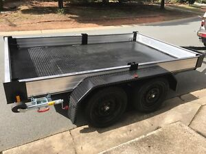3 ton excavator bobcat dingo trailer with aluminium sides 3mx2m Canberra City North Canberra Preview