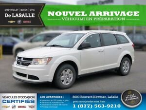 2012 Dodge Journey SE/Canadian Value Package TA Clean, Owned Onc