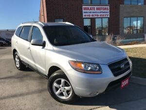 Sharp & Super Clean 2008 Hyundai Santa Fe GL, Fully Certified