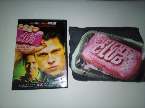 Fight Club Movie DVD + T-Shirt