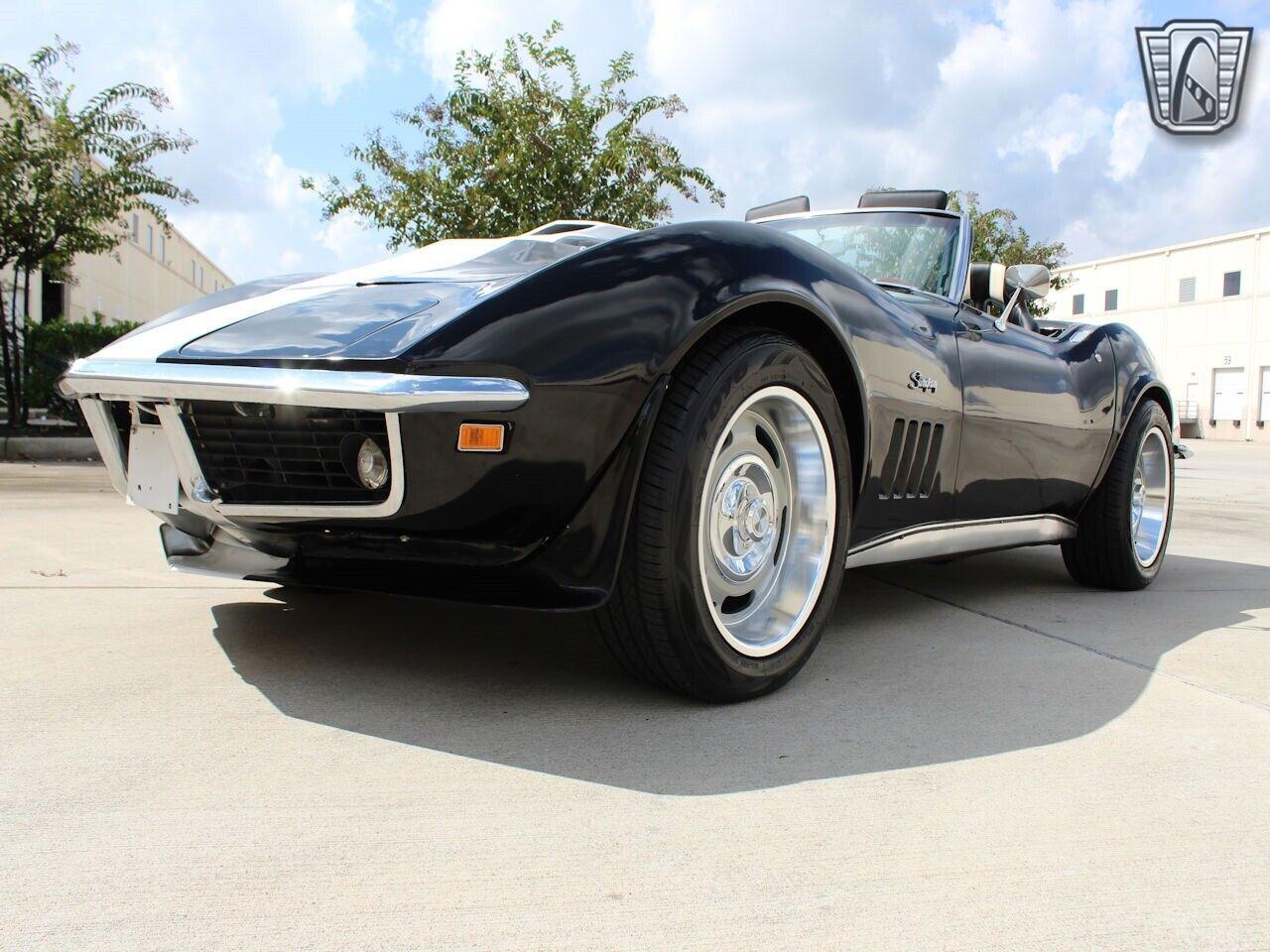 1969 Black Chevrolet Corvette   | C3 Corvette Photo 5