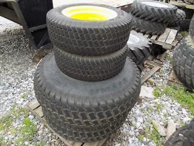 Set Of 4 Titan Turf Tires Rims For John Deere Compact Tractors S86733