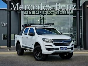 2018 Holden Colorado RG MY18 LS Pickup Crew Cab White 6 Speed Manual Utility
