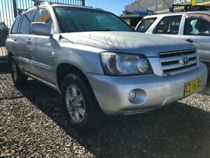 2004 Toyota Kluger MCU28R CVX Wagon 7st 4dr Auto 5sp 4WD 3.3i Silver Automatic Wagon Taree Greater Taree Area Preview