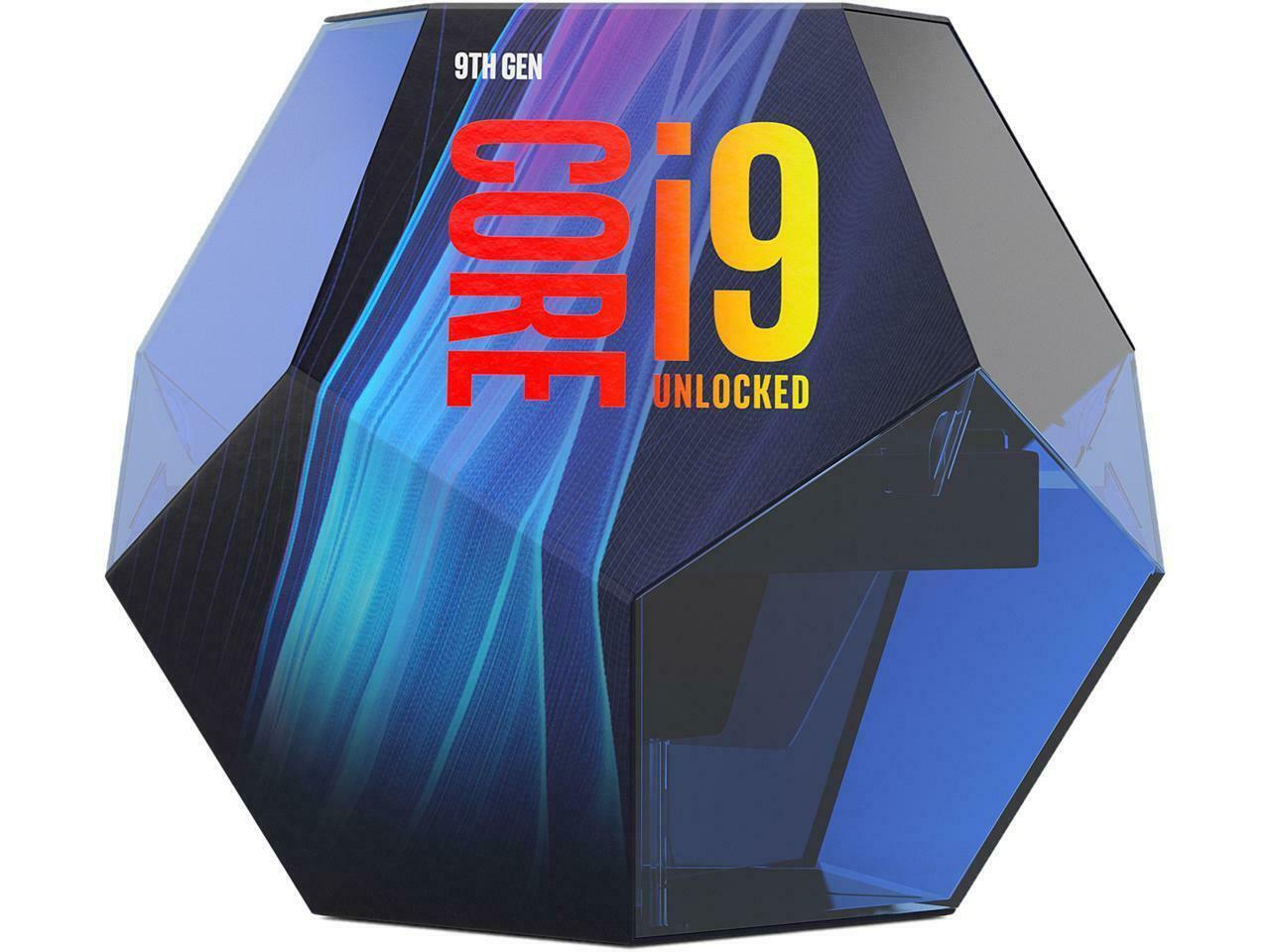 Intel Core i9-9900K up to 5.0 GHzTurbo unlocked Processor LG