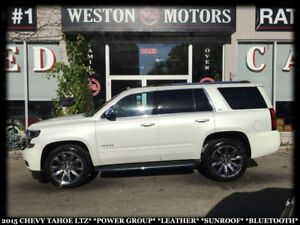2015 Chevrolet Tahoe LTZ*PWR GRP*LEATHER*SUNROOF*BTOOTH!!*