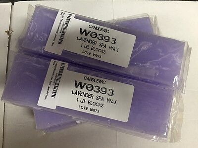 Paraffin Wax Refill Lavender - Spa wax- 6 lbs FREE Shipping