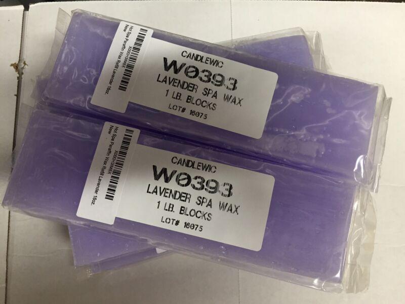 Paraffin Wax Refill Lavender - Spa wax- 20 lbs FREE Shipping