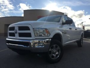 "2016 RAM 2500 Outdoorsman 6.7 DIESEL 8 FOOT BOX REAR CAM 18"" WHE"