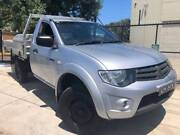 2010 Mitsubishi Triton GLX MN MY10 Auto TD C/CHAS Ute REGO & RWC Moorabbin Kingston Area Preview
