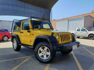 2009 Jeep Wrangler Unlimited JK MY09 Sport (4x4) Yellow 6 Speed Manual Softtop