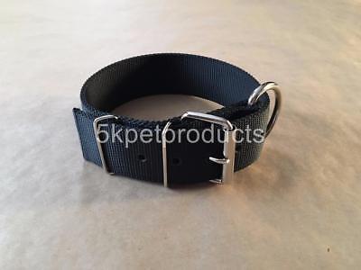Double Ply Nylon Collar (METAL BUCKLE COLLAR 2