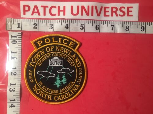 TOWN OF NEWLAND  NC  POLICE  SHOULDER PATCH   P128
