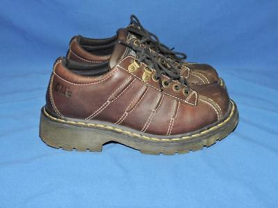 Doc Dr Martens 6 38 Brown Leather Oxford Shoes 9764 Rugged 4-eyelet (4 Eyelet 2 D-ring)