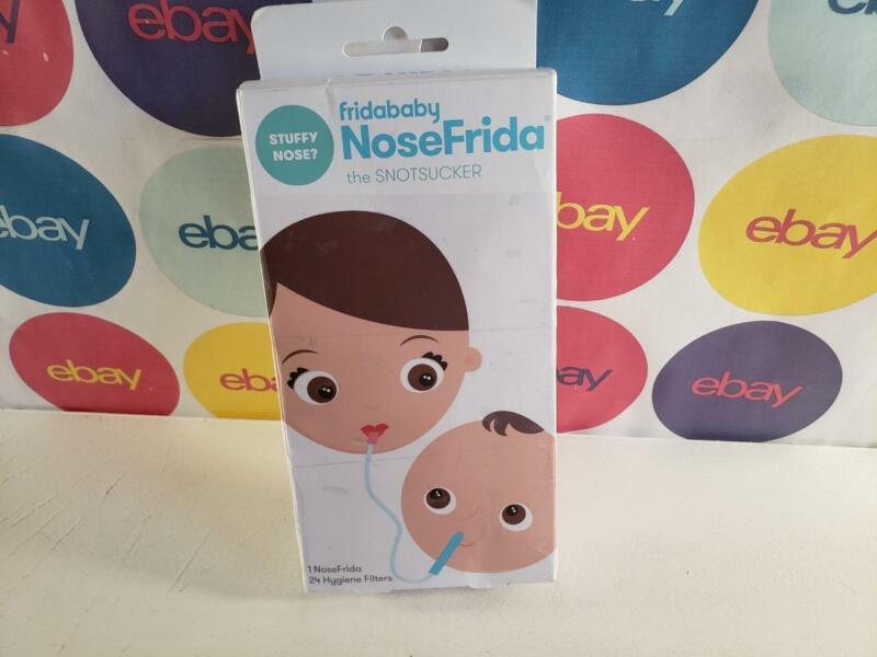 Baby Nasal Aspirator NoseFrida the Snotsucker with 20 Extra Hygiene Filters