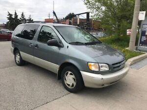 2000 Toyota Sienna SHIPPERS SPECIAL,LE,243KM,$1600