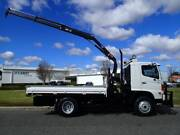 Hino FT 4 X 4 Traytop with Crane Welshpool Canning Area Preview