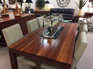 Jarrah dining table Chatswood Willoughby Area Preview