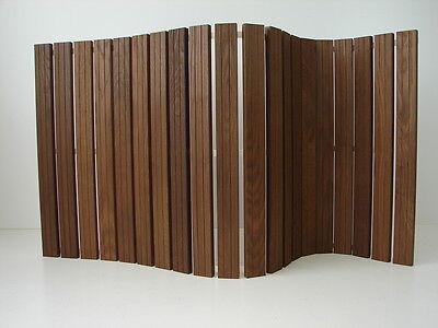 Wellnessmatte Thermoesche Holzmatte 1195x595mm Badvorleger Saunamatte Badematte