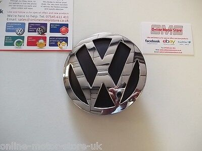 Volkswagen Crafter 'VW' emblem badge for rear door 2006-2016 - NEW - GENUINE VW