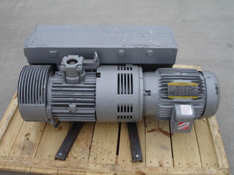 Busch 10HP Vacuum Pump and Motor RC0255D5Z61017 180CFM Vacuum 15 Torr NEW