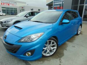 2011 Mazda Mazdaspeed3 Mazdaspeed3 TURBO 263HP  SIEGES CHAUFFANT