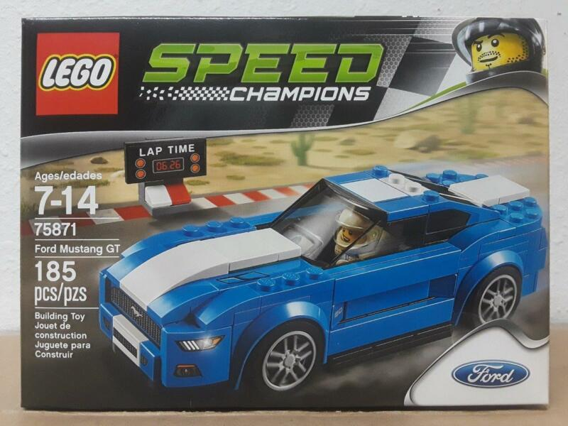 New LEGO 75871 Speed Champions Ford Mustang GT 185 pcs
