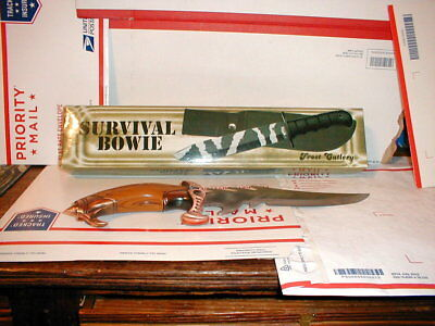 Lot of 2 Bowie Knifes One New in box