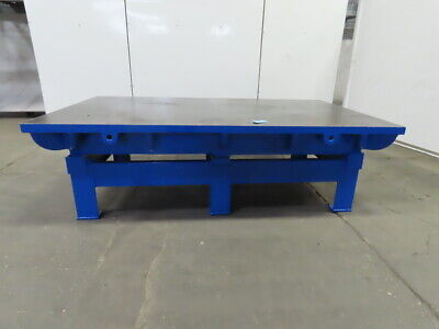Cast Iron 2 Thick Web Top Layout Inspection Work Welding Table Bench 86x54x29