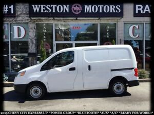 2015 Chevrolet Express CITY EXPRESS*LT*PWR GRP*BTOOTH*AUX*A/C*LO