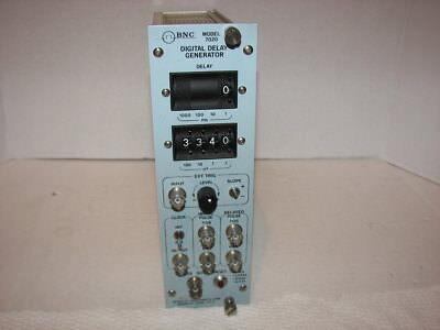 Bnc Berkely Nucleonics Corp. 7020 Digital Delay Generator Nim Bin Module Ortec