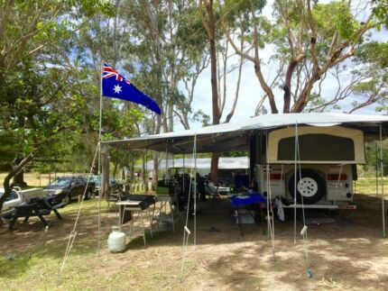 Caravan Coromal Pioneer  Silhouette off road Burleigh Heads Gold Coast South Preview