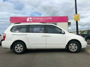 2011 Kia Carnival VQ MY11 S White 4 Speed Sports Automatic Wagon Garbutt Townsville City Preview