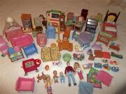 Huge Dollhouse Accessories Lot