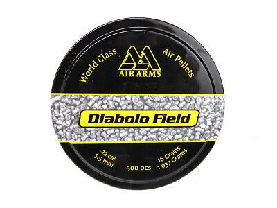 Air Arms Diabolo Field Pellets | .22 Cal, 16 Grains, 5.51mm, -