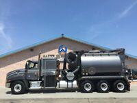 2013 CAT CT660 Hydro Excavator Vacuum Vac Truck