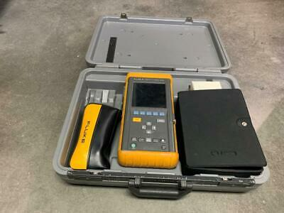 Fluke 98 Series Ii Automotive Dual Channel Scopemeter W Case Some Accessories