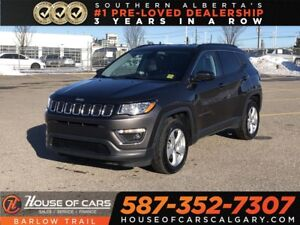 2018 Jeep Compass North / Leather / Bluetooth