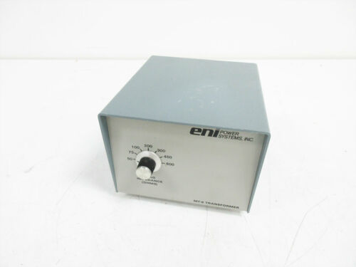 ENI POWER SYSTEMS MT-6 TRANSFORMER GENERATOR IN TO PLASMA CHAMBER OUT 120 KHZ
