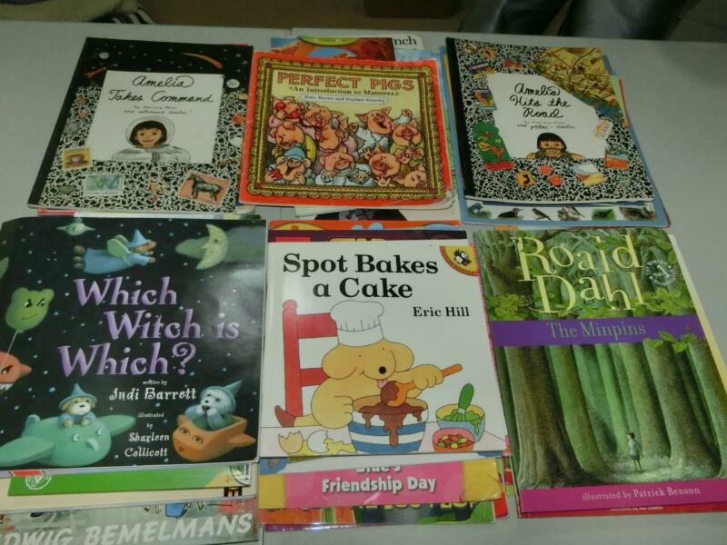 Huge Lot 58 K 1st  2nd 3rd  Grade AR Picture Books TEACHER LIBRARY