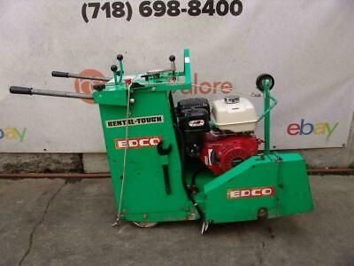 Edco Ss20-13h Concrete Saw Walk Behind Self Propelled Works Great Bg3