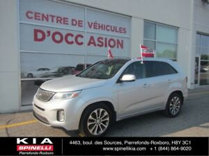 2014 Kia Sorento SX NAVIGATION 7 PLACES/ 7 PASS GPS**3RD ROW** L