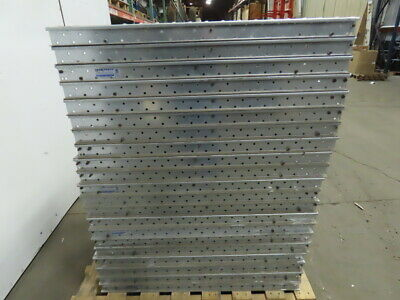 Span-track Shelf-less Carton Flow Gravity Roller Conveyor 15 X 37 Lot Of 42
