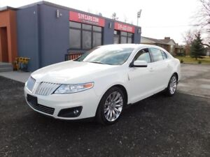 2012 Lincoln MKS LEATHER   DUAL ROOF   NAVIGATION