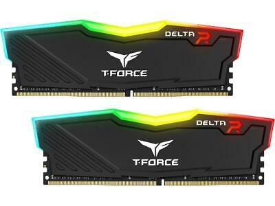 Team T-Force Delta II RGB Series 8GB (2 x 4GB) 288-Pin DDR4 SDRAM DDR4 2400 (8gb 288 Pin Ddr4 Sdram Ddr4 2400)