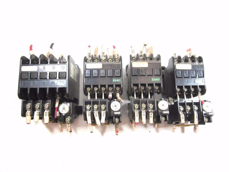 LOT of 4 FUJI ELECTRIC MAGNETIC CONTACTORS