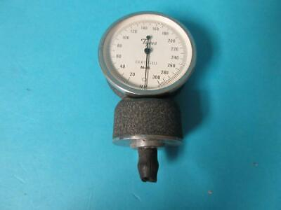 Lot Of 3 Vintage Tycos Certified Blood Pressure Gauge Head N-45 0-300 Wclip