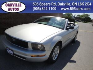 2006 Ford Mustang LEATHER, CLEAN CARPROOF, AIR CONDITION