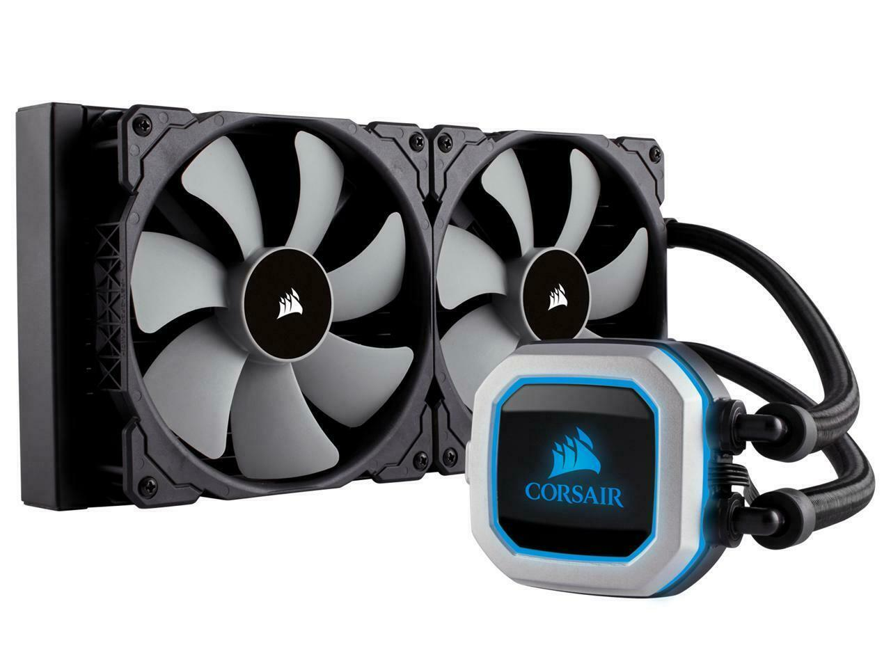 Corsair Hydro Series H115i PRO RGB 280mm Dual 140mm ML PWM Fans Advanced RGB