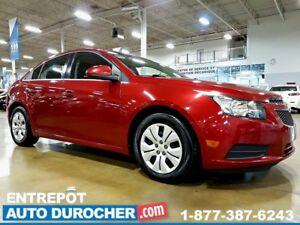 2012 Chevrolet Cruze LT Turbo - AUTOMATIQUE - AIR CLIMATISÉ